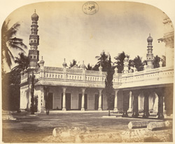 Mosque connected with the Tomb of Haidar Ali and Tipu Sultan, Shrirangapattana.